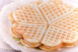 Waffel Heart Pancakes