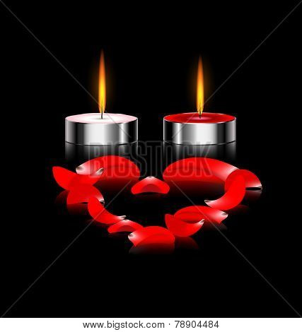 couple of candles