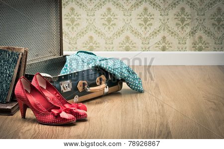 Glamour Woman Packing