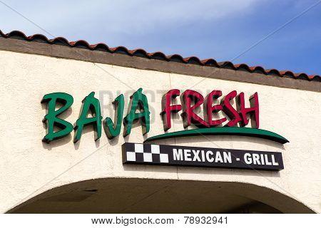 Baja Fresh Mexican Grill Restaurant Exterior