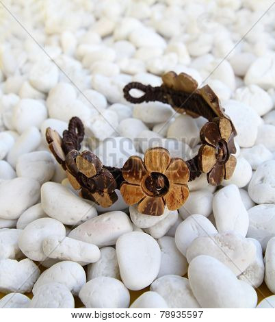 Bangle From Coconut Shell