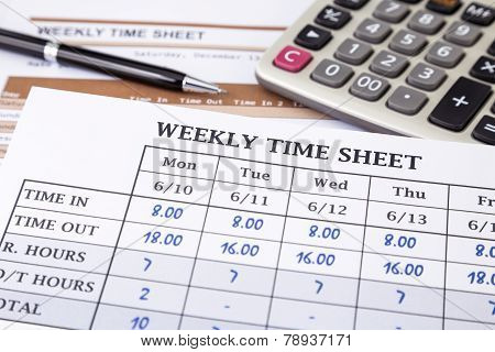 Calculating Employee Working Time
