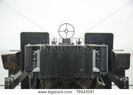 Machine gun sight