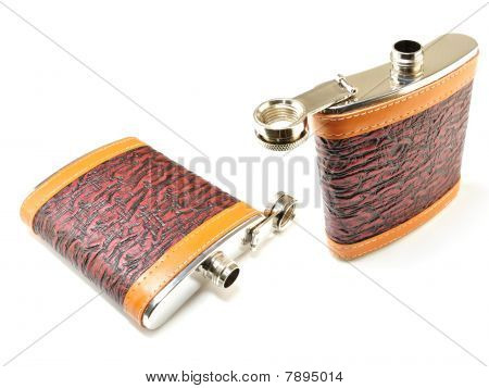 Flask Of Cognac
