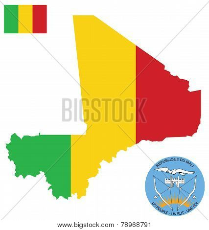 Republic of Mali Flag