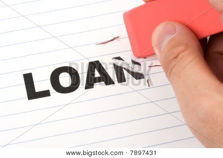 Eraser And Word Loan