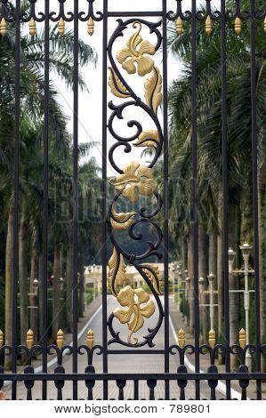 Malaysian Palace Gate