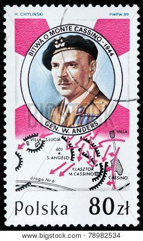 Lieutenant-general Wadysaw Anders