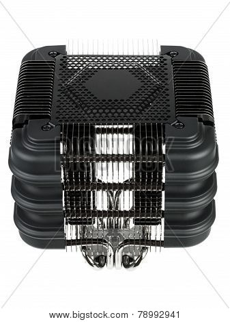 Radiator passive cooling of computer processor