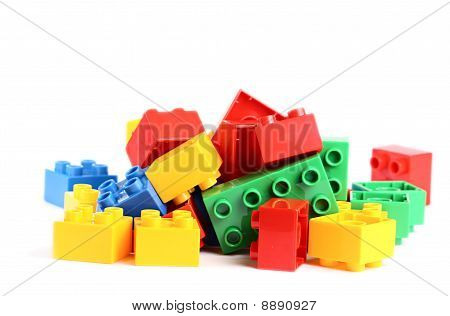 Some Colored Bricks From Game