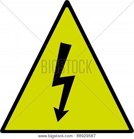 Electric shock hardzard