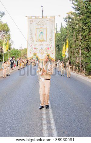 Our Lady Of Mount Carmel Parade, Haifa