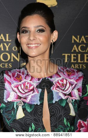 LOS ANGELES - FEB 24:  Camila Banus at the Daytime Emmy Creative Arts Awards 2015 at the Universal Hilton Hotel on April 24, 2015 in Los Angeles, CA