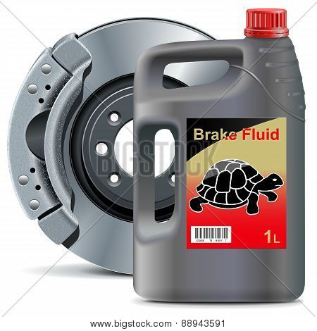Vector Brake Fluid With Disk Brake