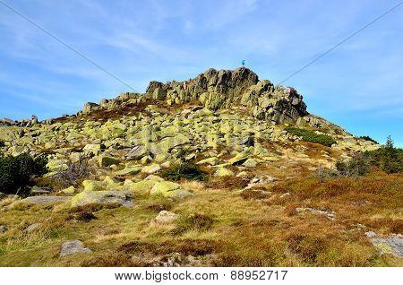 Rocky landscape.