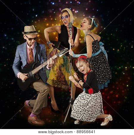 Rockabilly Family Band
