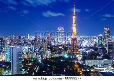 Landmark Tokyo in Japan
