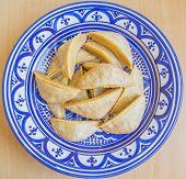 Kaab el Ghazal - Gazelle Horns - Traditional Moroccan cookies poster