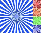 Radiating converging lines rays background. Known as starburst sunburst background. Vector illustration. poster