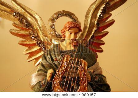 Xmas Angel Hor Centrl
