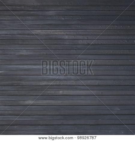 Black Wood Plank Background