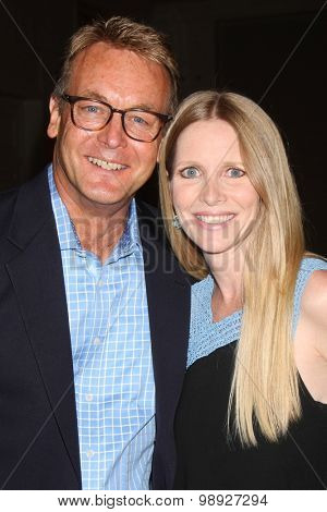 LOS ANGELES - AUG 15:  Doug Davidson, Lauralee Bell at the