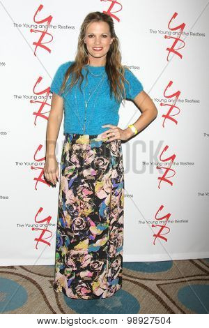 LOS ANGELES - AUG 15:  Melissa Claire Egan at the