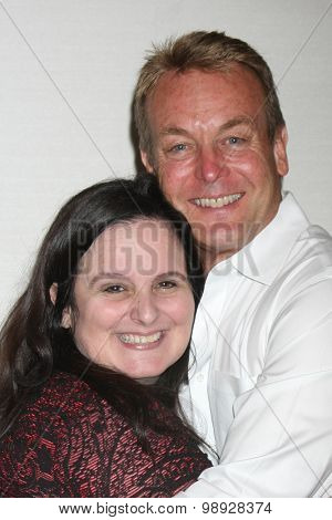 LOS ANGELES - AUG 14:  Cathy Tomas, Doug Davidson at the Doug Davidson Fan Club Event at the Universal Sheraton Hotel on August 14, 2015 in Universal City, CA