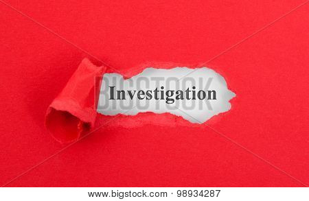 Text Appearing Behind Torn Red Envelop