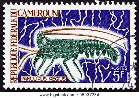 Postage Stamp Cameroon 1968 Royal Spiny Lobster