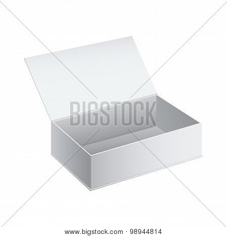 White Package Cardboard Box