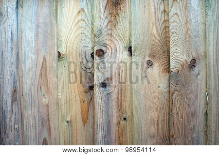 Fence Panels Untreated And Weathered