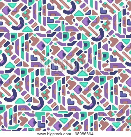 Ethnic seamless pattern. Vector illustration