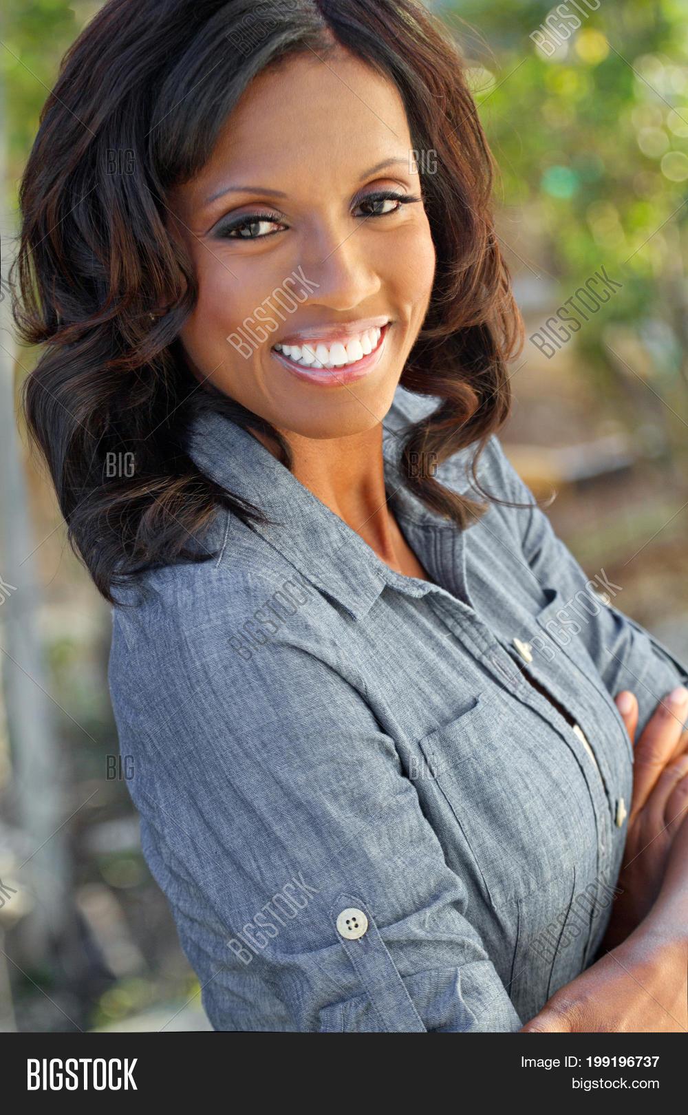 Beautiful mature black woman opinion