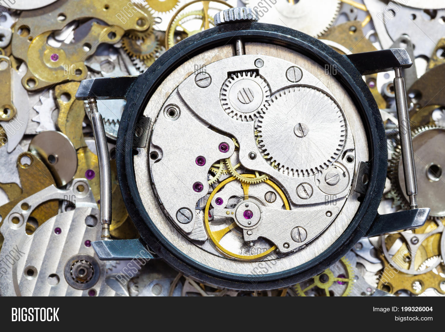 Open Old Mechanical Image & Photo (Free Trial) | Bigstock