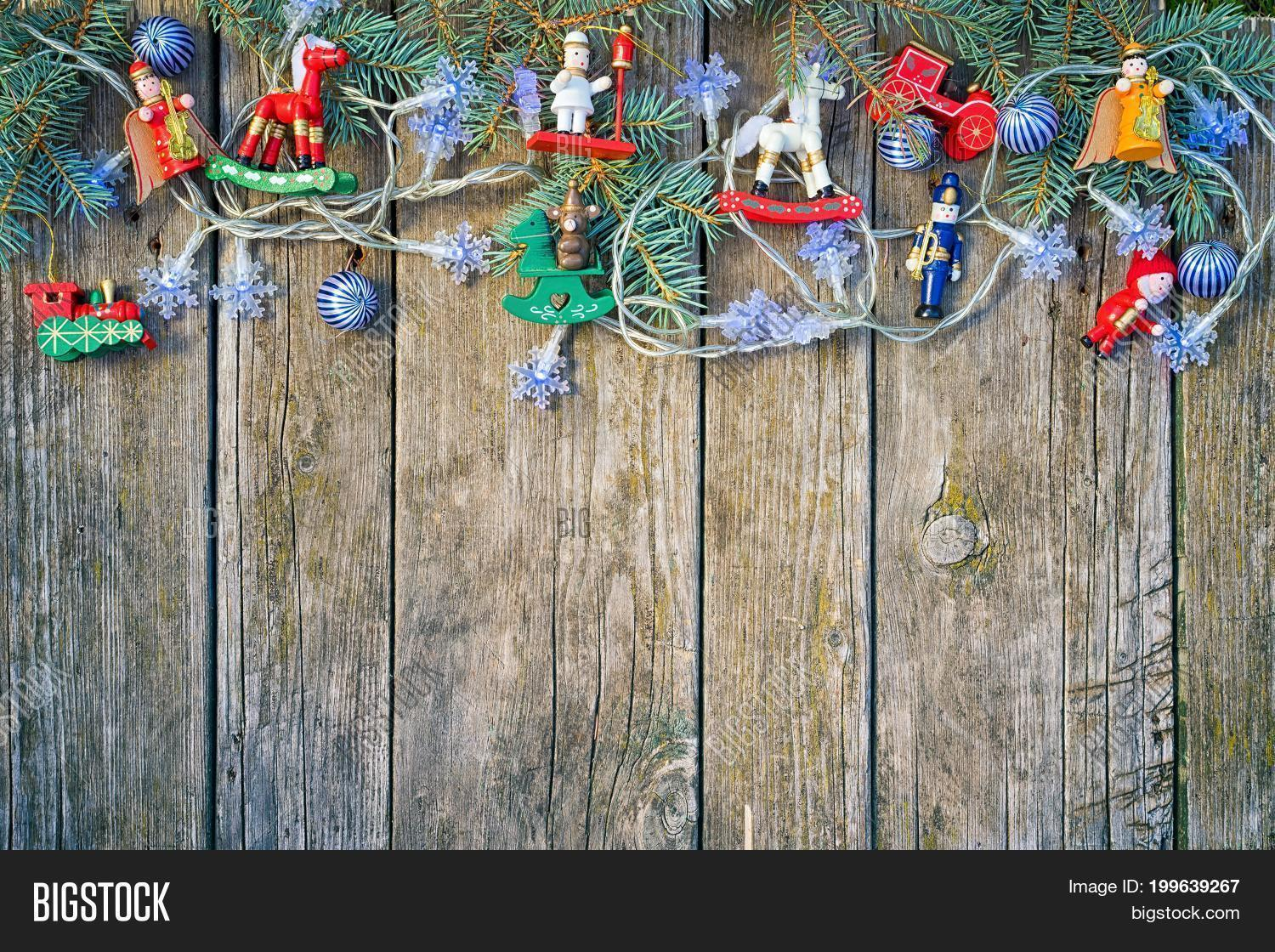 Christmas Border Frame Image Photo Free Trial Bigstock