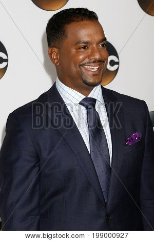 LOS ANGELES - AUG 6:  Alfonso Ribeiro at the ABC TCA Summer 2017 Party at the Beverly Hilton Hotel on August 6, 2017 in Beverly Hills, CA