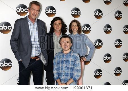 LOS ANGELES - AUG 6:  Neil Flynn, Charlie McDermott, Atticus Shaffer, Eden Sher at the ABC TCA Summer 2017 Party at the Beverly Hilton Hotel on August 6, 2017 in Beverly Hills, CA