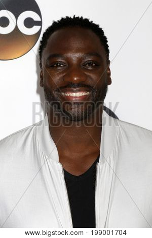 LOS ANGELES - AUG 6:  Adewale Akinnuoye-Agbaje at the ABC TCA Summer 2017 Party at the Beverly Hilton Hotel on August 6, 2017 in Beverly Hills, CA