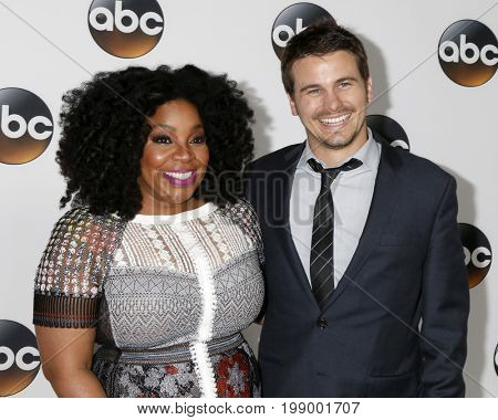 LOS ANGELES - AUG 6:  Kimberly Hebert Gregory, Jason Ritter at the ABC TCA Summer 2017 Party at the Beverly Hilton Hotel on August 6, 2017 in Beverly Hills, CA