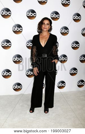LOS ANGELES - AUG 6:  Lana Parrilla at the ABC TCA Summer 2017 Party at the Beverly Hilton Hotel on August 6, 2017 in Beverly Hills, CA