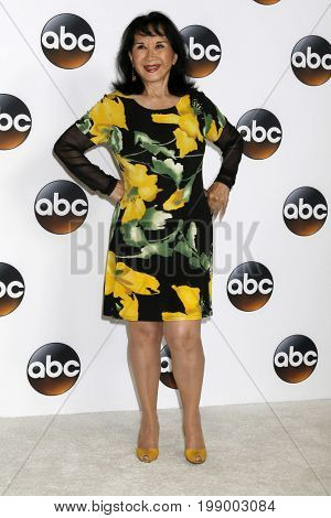 LOS ANGELES - AUG 6:  Lucille Soong at the ABC TCA Summer 2017 Party at the Beverly Hilton Hotel on August 6, 2017 in Beverly Hills, CA