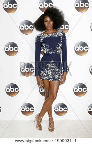 LOS ANGELES - AUG 6:  Diarra Kilpatrick at the ABC TCA Summer 2017 Party at the Beverly Hilton Hotel on August 6, 2017 in Beverly Hills, CA