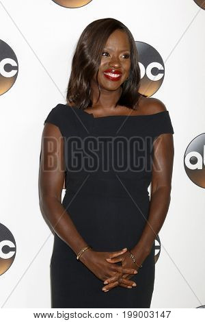 LOS ANGELES - AUG 6:  Viola Davis at the ABC TCA Summer 2017 Party at the Beverly Hilton Hotel on August 6, 2017 in Beverly Hills, CA