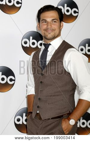 LOS ANGELES - AUG 6:  Giacomo Gianniotti at the ABC TCA Summer 2017 Party at the Beverly Hilton Hotel on August 6, 2017 in Beverly Hills, CA