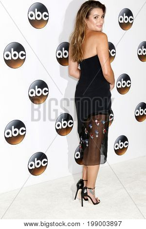 LOS ANGELES - AUG 6:  Lea Michele at the ABC TCA Summer 2017 Party at the Beverly Hilton Hotel on August 6, 2017 in Beverly Hills, CA