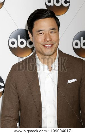 LOS ANGELES - AUG 6:  Randal Park at the ABC TCA Summer 2017 Party at the Beverly Hilton Hotel on August 6, 2017 in Beverly Hills, CA