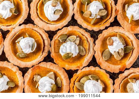 Spicy Pumpkin Tartlets