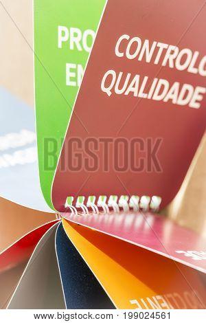Controlo de Qualidade - Portuguese words for Quality Control