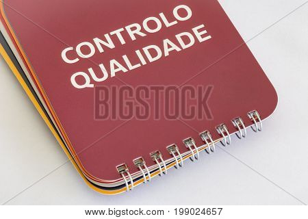 Controlo Qualidade - Portuguese words for Quality Control